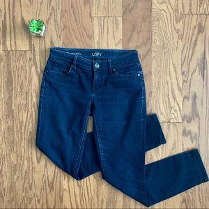 NWOT Ann Taylor LOFT Curvy Skinny Jeans Sz 0/25